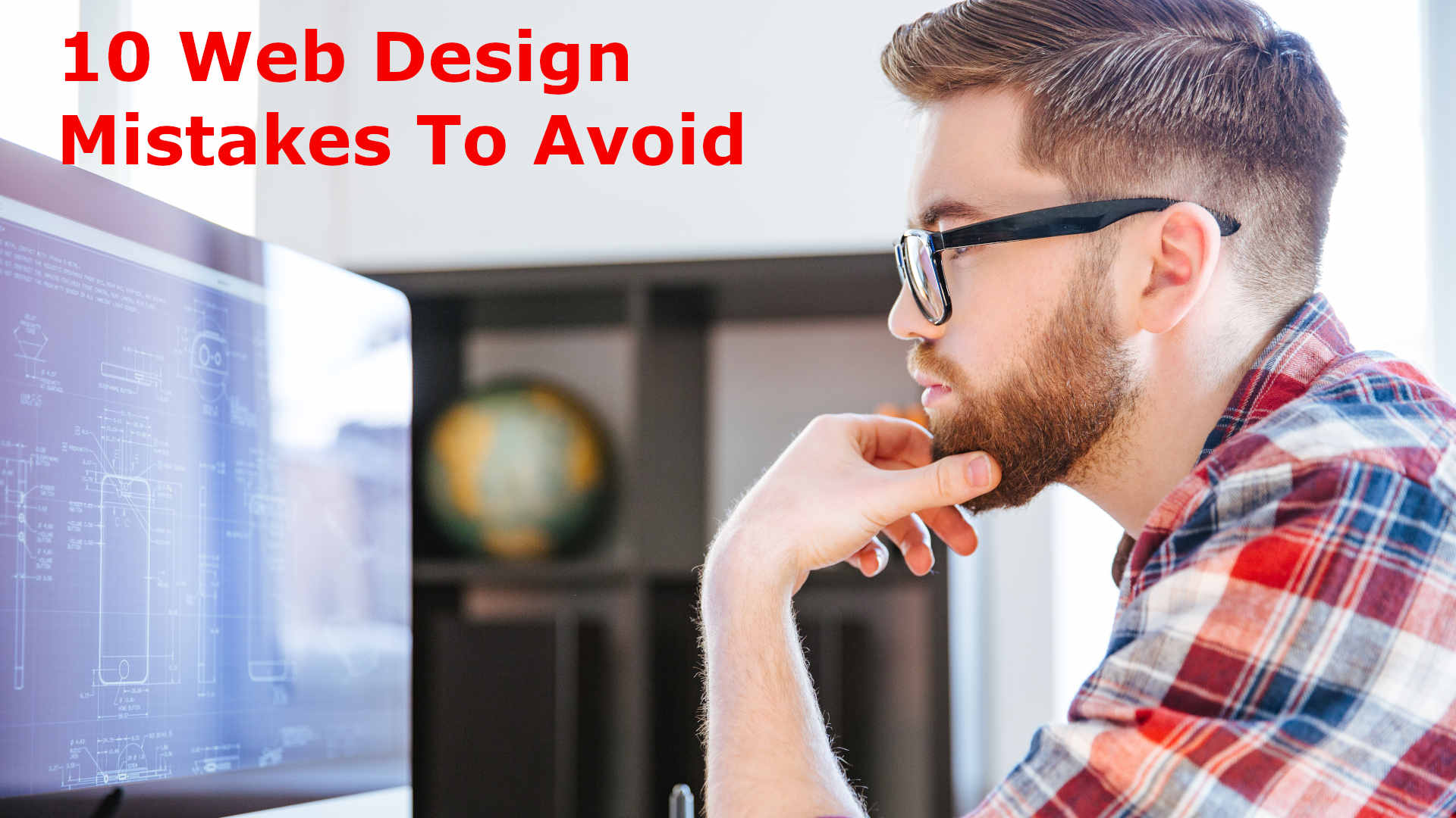 10 Mistakes That You Should Avoid While Designing A Website