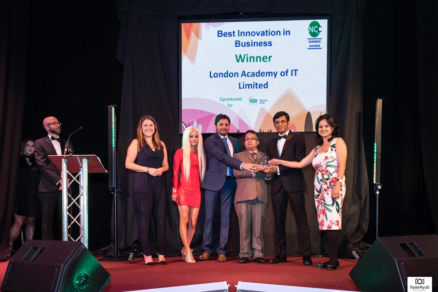 Image of the Winner of Best Innovation in Business in 2017