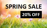 Spring Discount Code in 2019 to get 20% OFF on full price courses