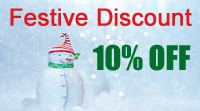 Get 10% discount by enrolling in December 2019 with this promo code