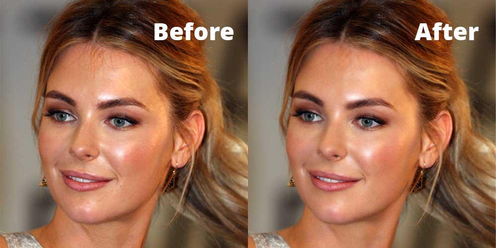 soften skin photoshop